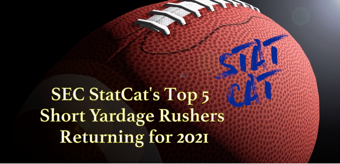 SEC StatCat's Top5 Short Yardage Rushers for 2021