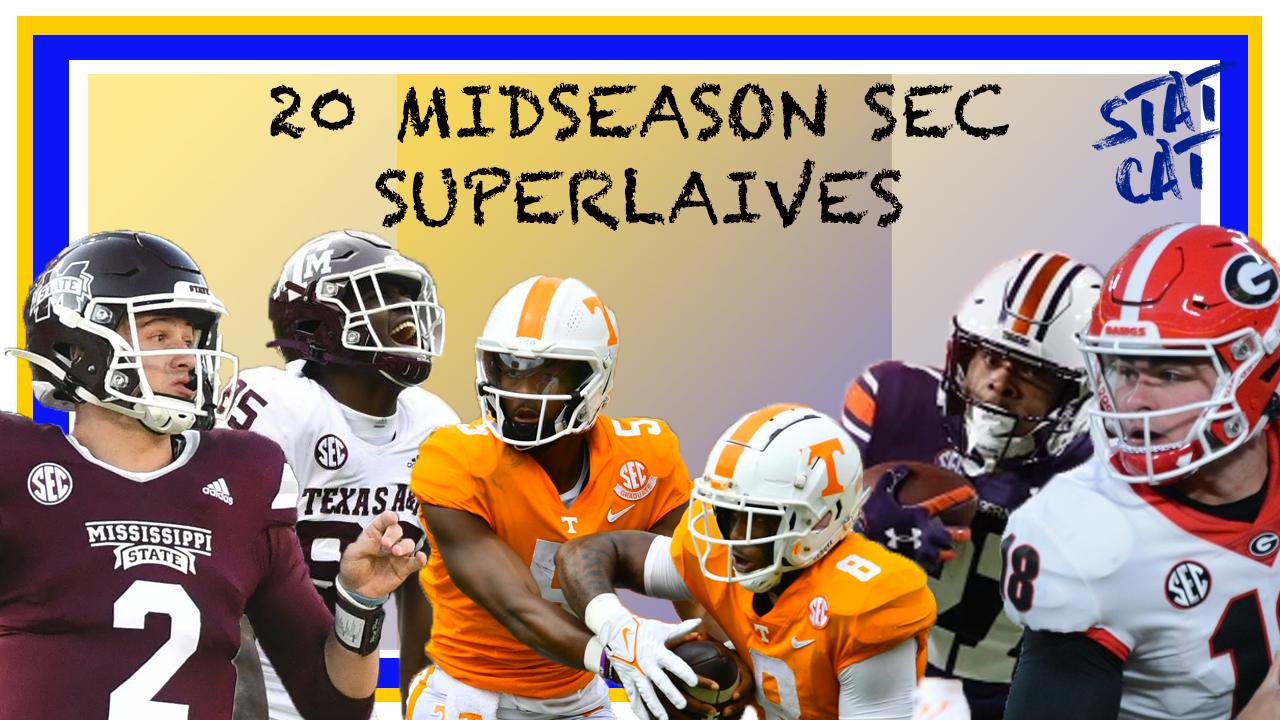 2021 Mid-Season SEC Superlatives