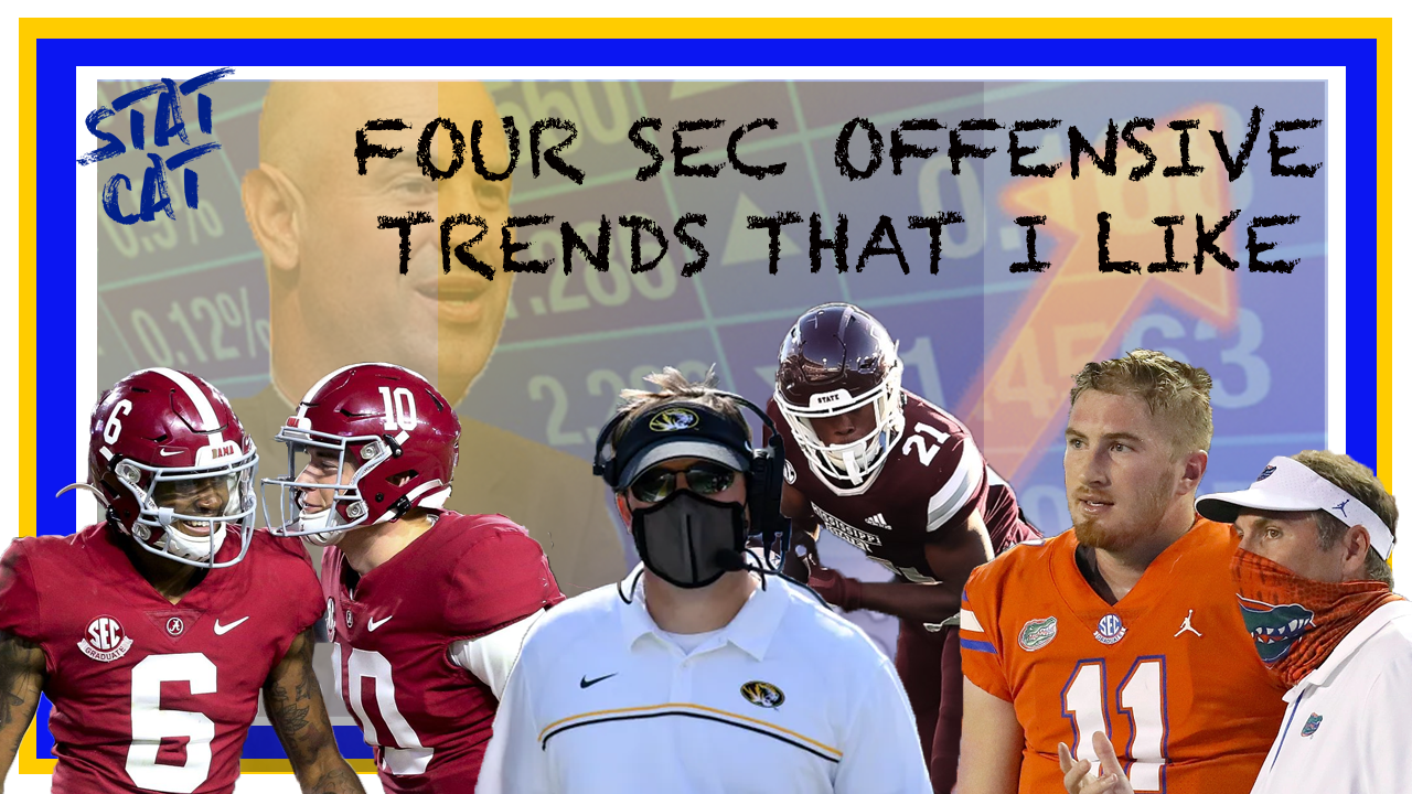 2020: Four SEC Offensive Trends That I Like