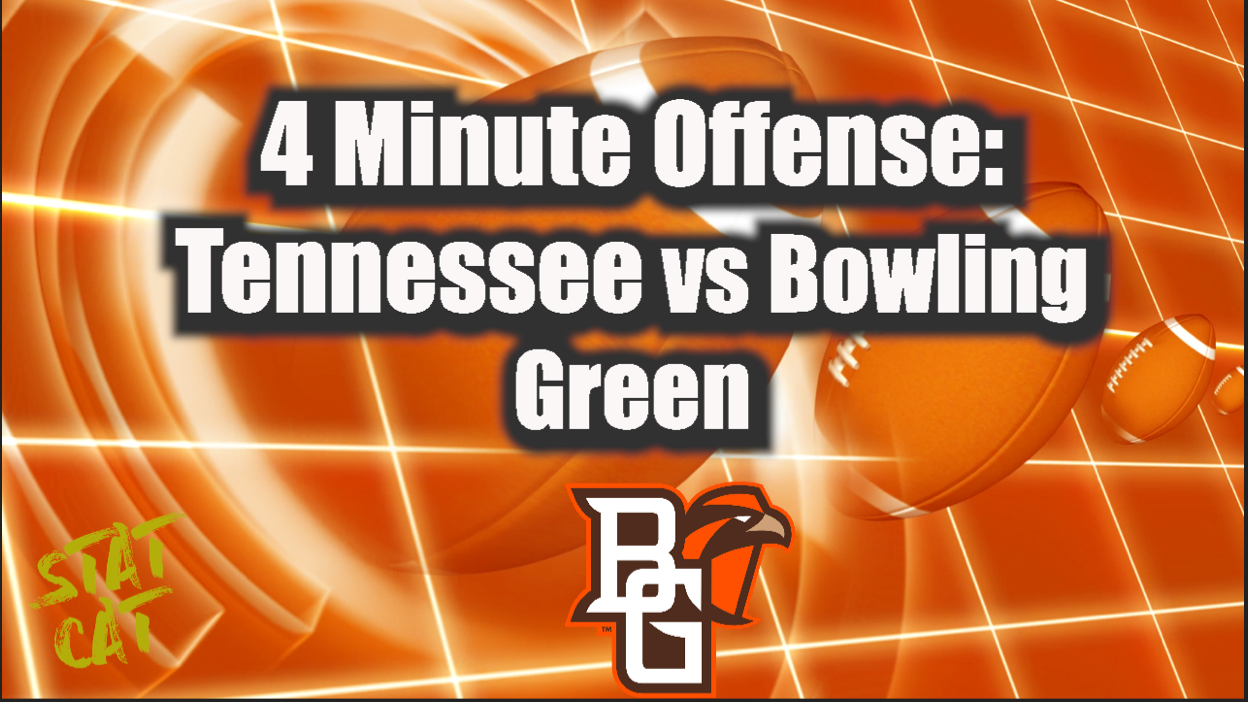 2021: Tennessee 4 Minute Offense vs Bowling Green