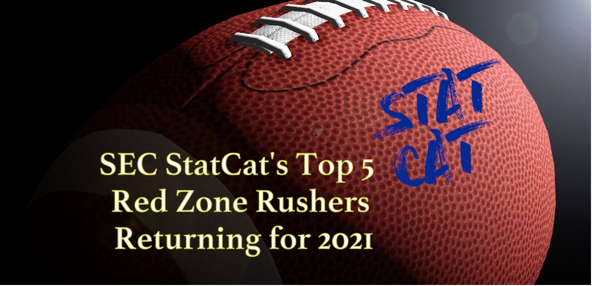 SEC StatCat's Top5 Red Zone Rushers for 2021