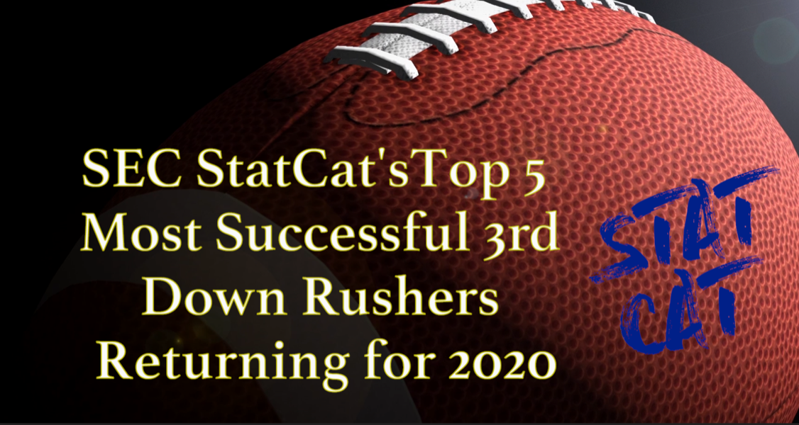 2020 Vision: SEC StatCat's Top5 Most Successful 3rd Down Rushers
