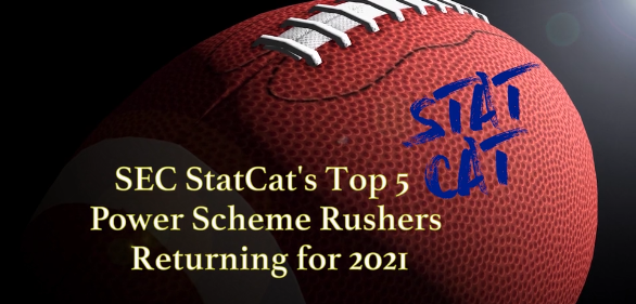 SEC StatCat's Top5 Power Scheme Rushers for 2021