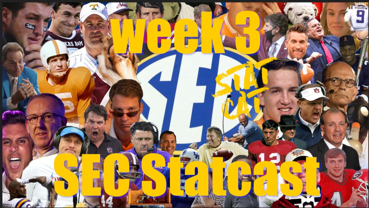 2020 SEC Statcast: Week 3