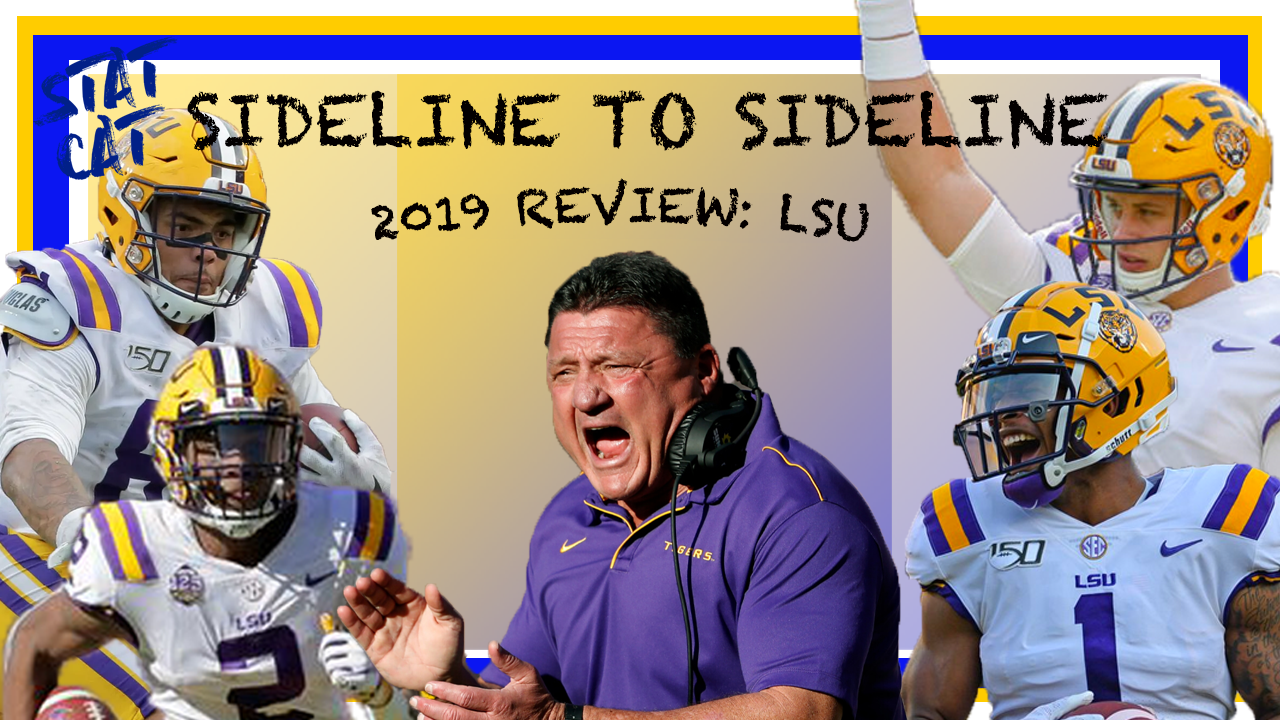 Sideline to Sideline: LSU 2019