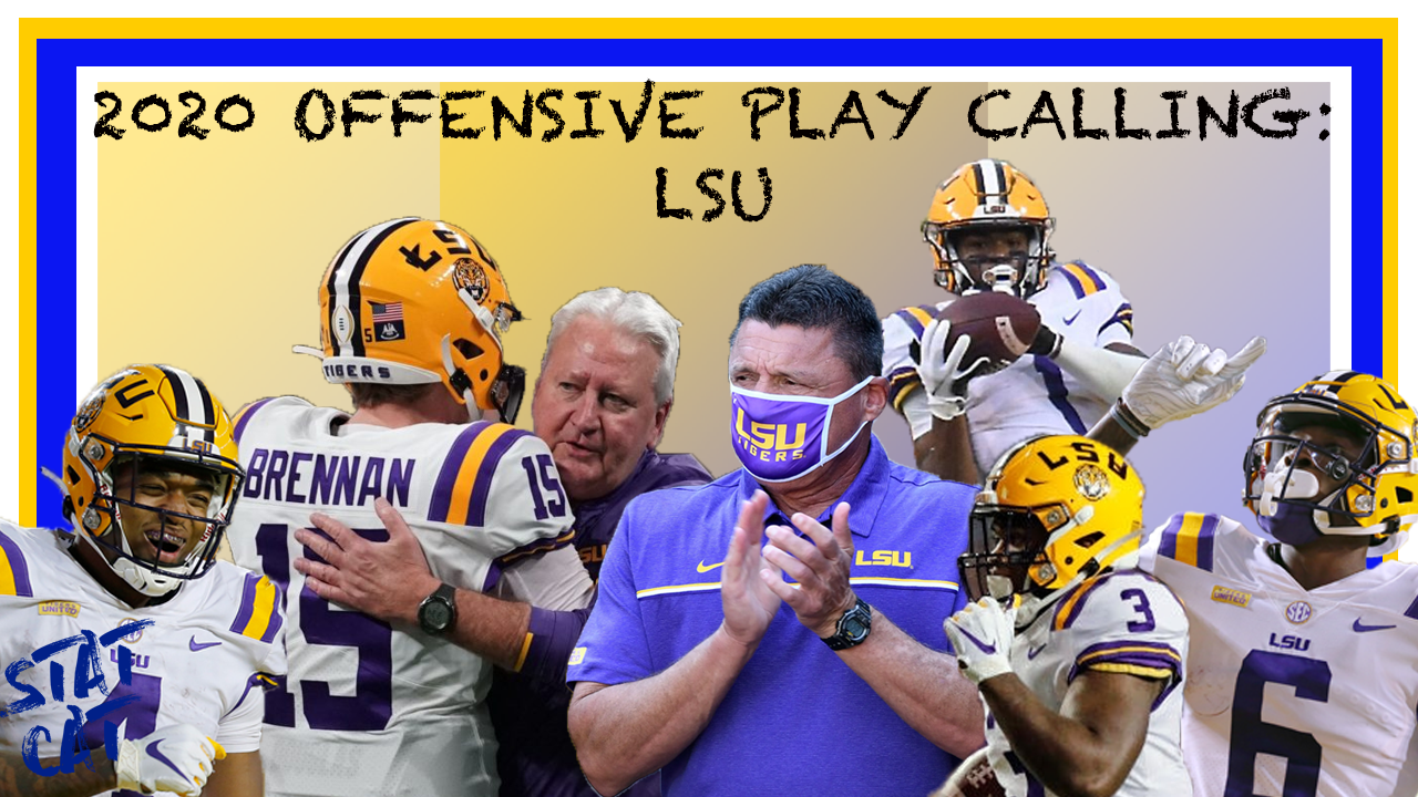 2020 Offensive Play Calling: LSU