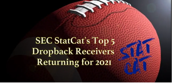 SEC StatCat's Top5 Dropback Receivers for 2021