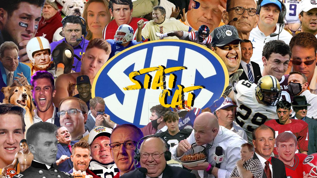 SEC STATCAST: Week 4