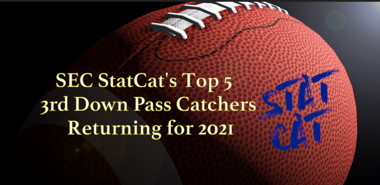SEC StatCat's Top5 3rd Down Pass Catchers for 2021