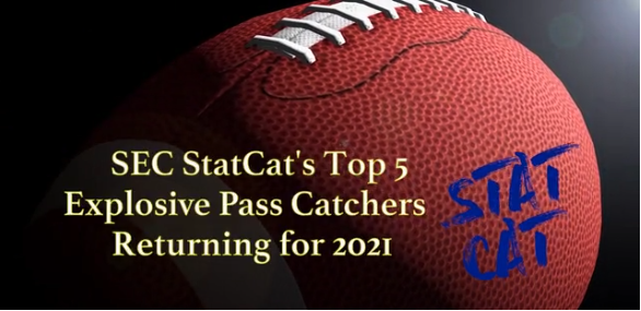 SEC StatCat's Top5 Most Explosive Pass Catchers for 2021