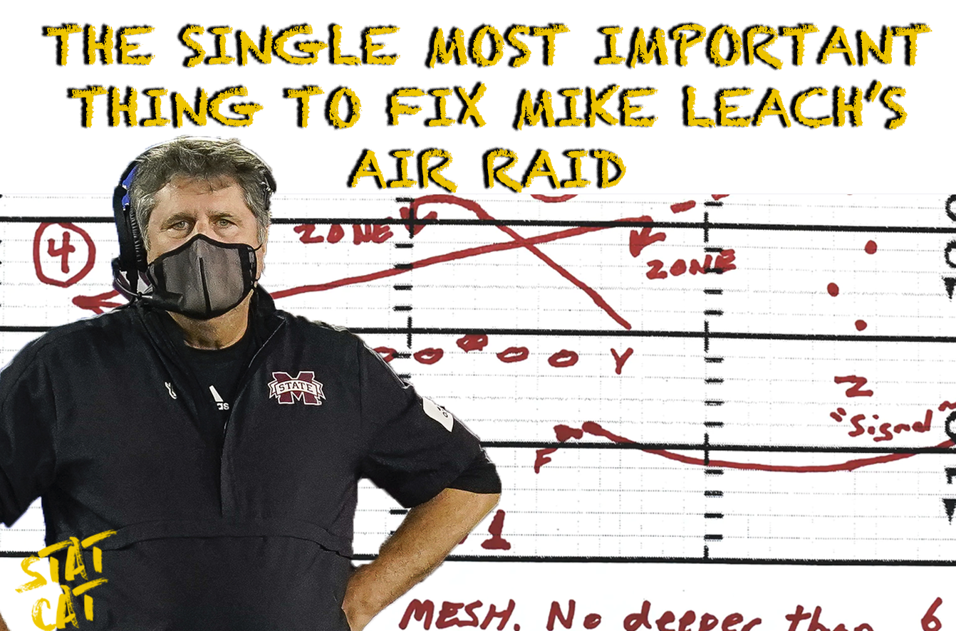 The Single Most Important Thing that will Fix Mike Leach's Air Raid Offense