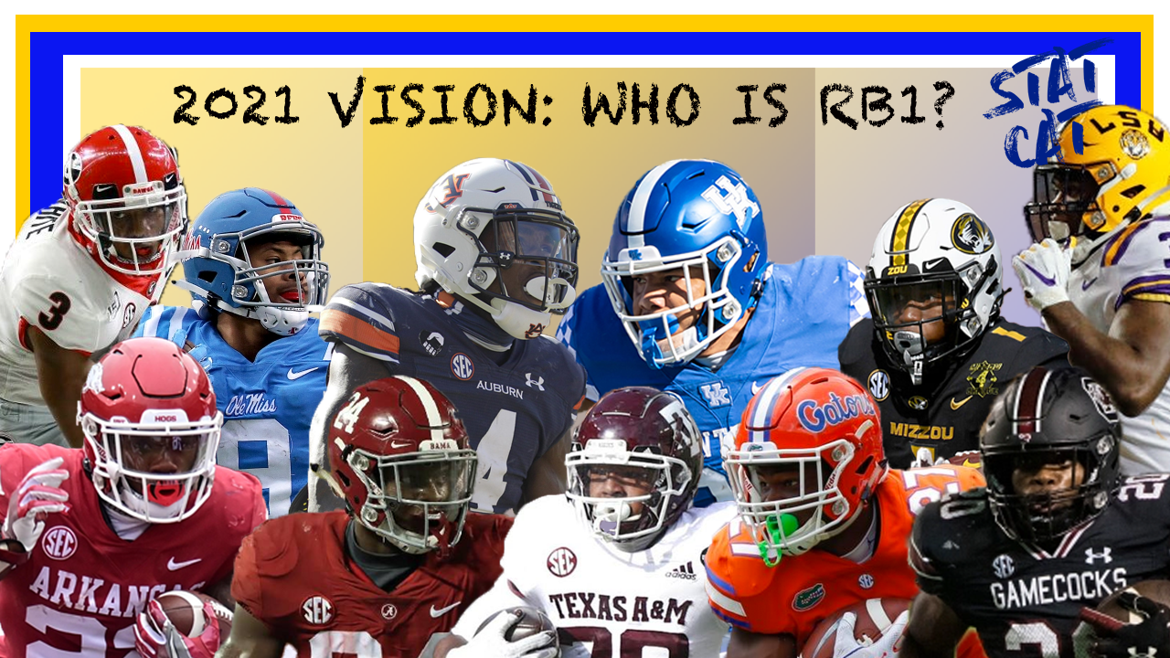 2021 Vision: Who is the SEC's RB1?