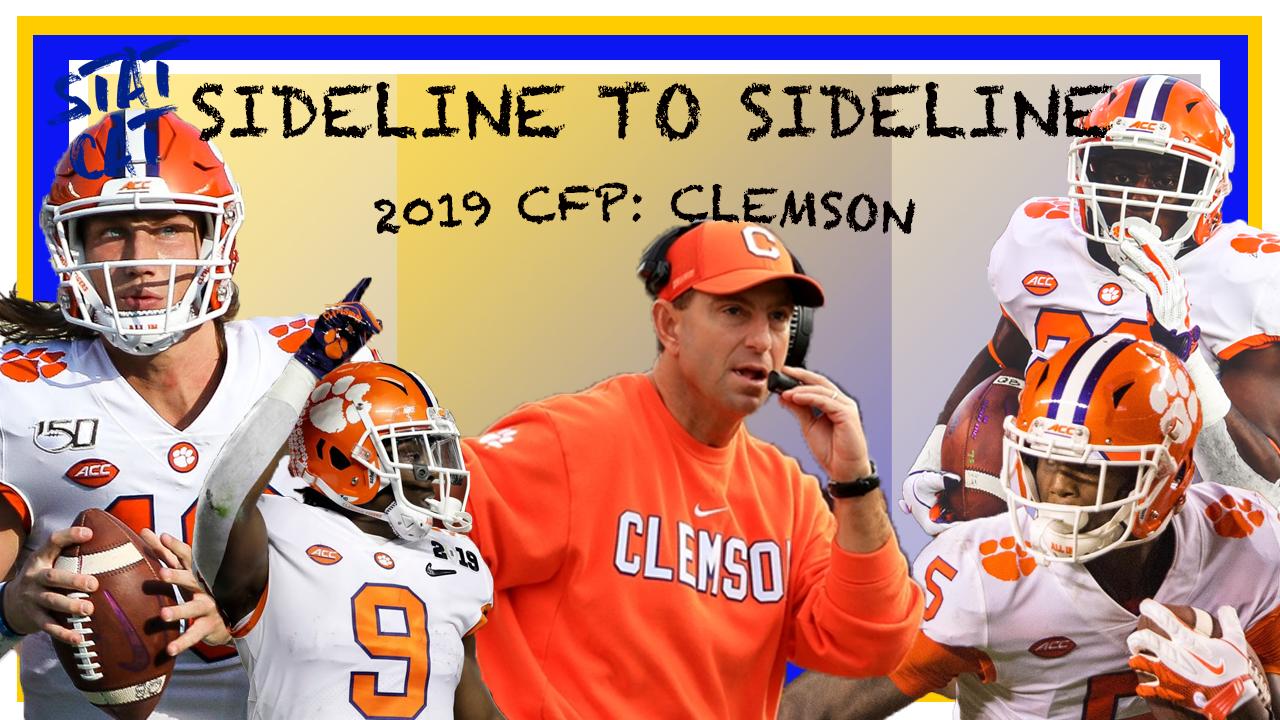 Sideline to Sideline: CFP Clemson