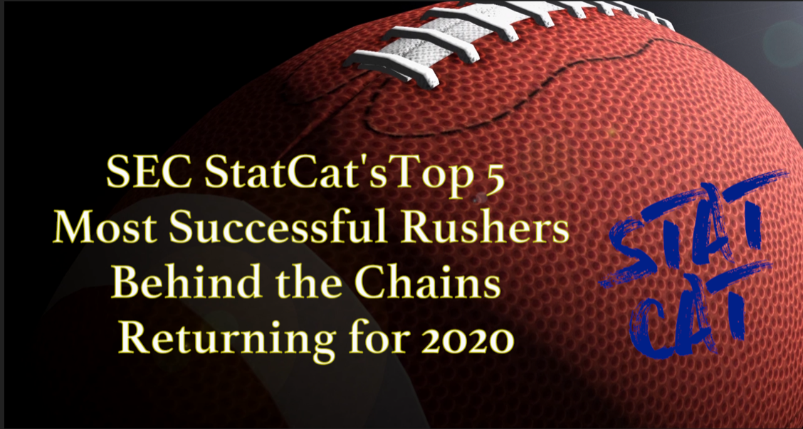 2020 Vision: SEC StatCat's Top5 Most Succesful Rushers Behind the Chains