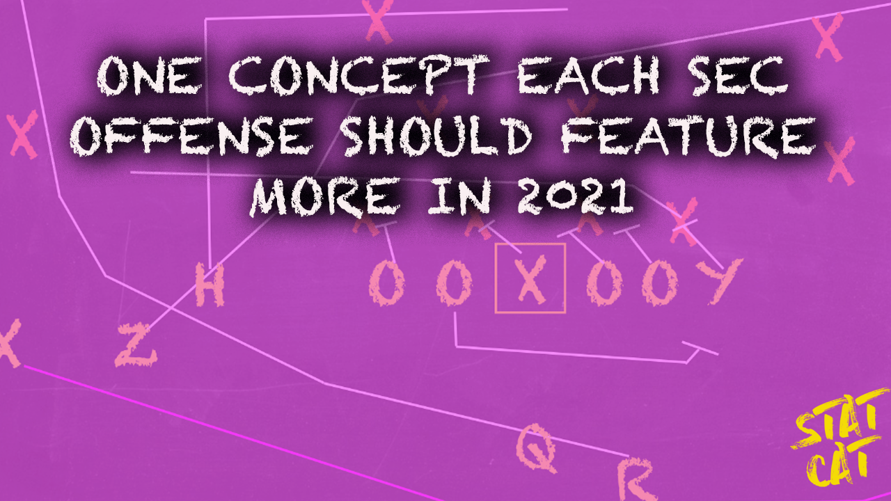 One concept each SEC offense should feature more in 2021