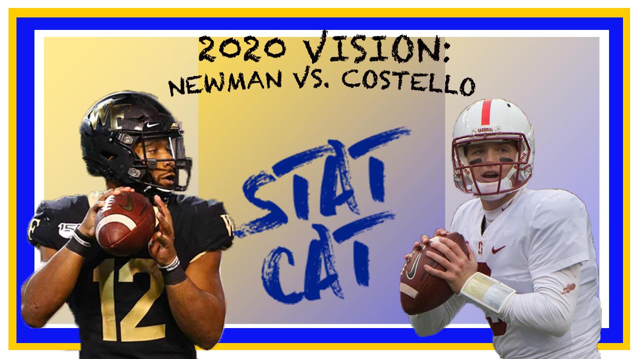 2020 Vision: Jamie Newman vs. KJ Costello