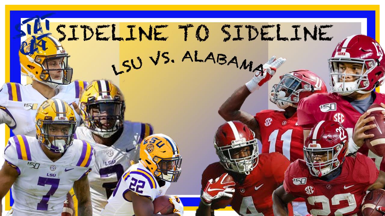 Sideline to Sideline: LSU vs. Alabama