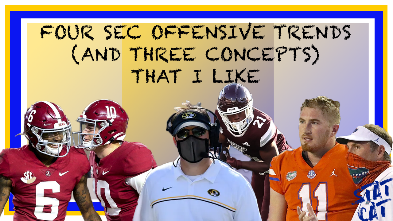 Four Offensive SEC Trends (and Three Offensive Concepts) That I Like