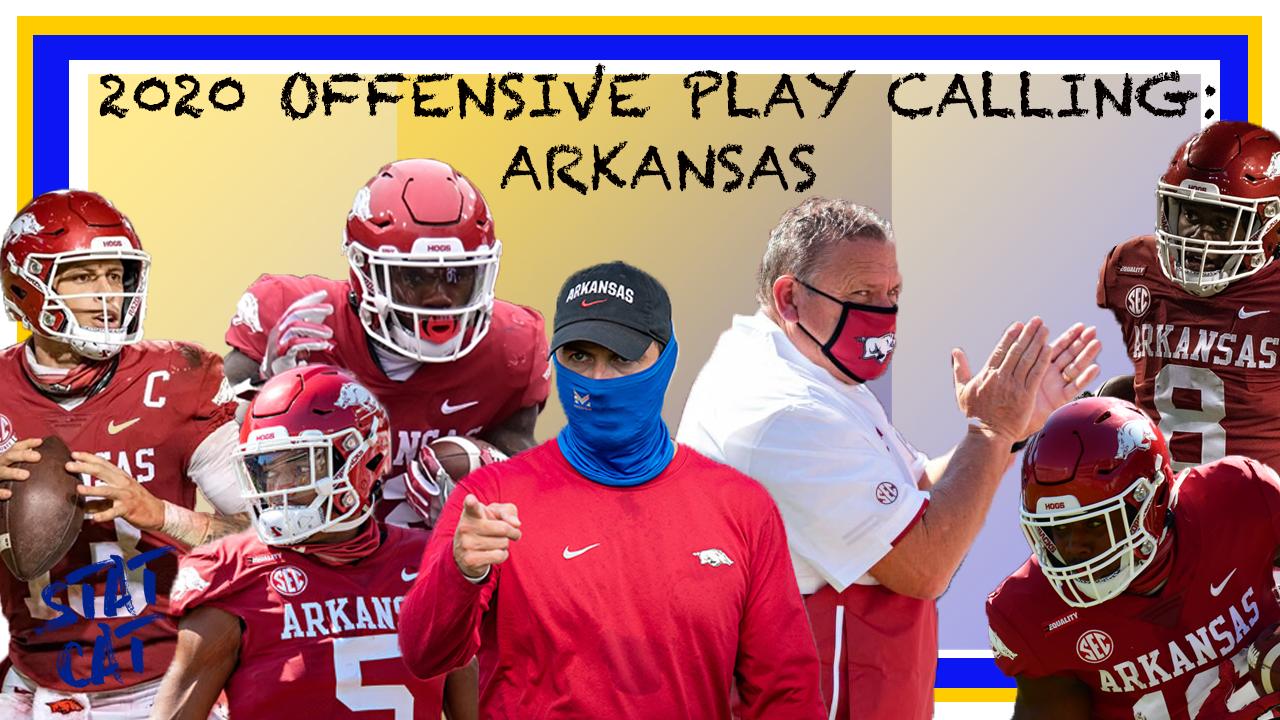2020 Offensive Play Calling: Arkansas